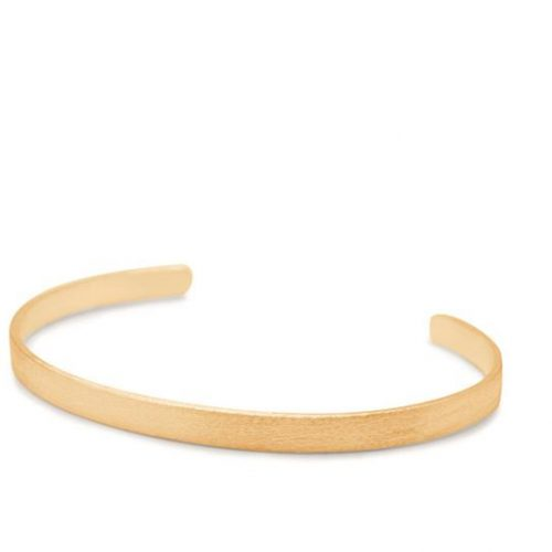 Pernille Corydon Alliance Bracelet gold wide