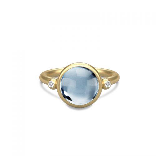 Prime isblå ring