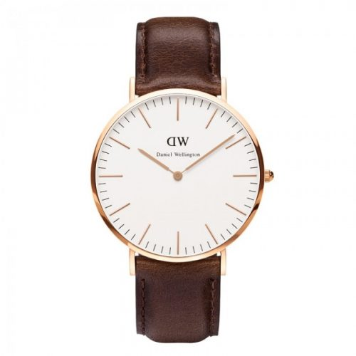 DANIEL WELLINGTON rødguld 40 mm classic