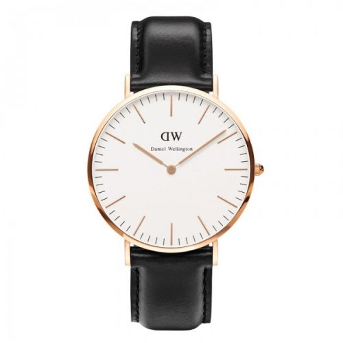 DANIEL WELLINGTON rødguld 36 mm classic