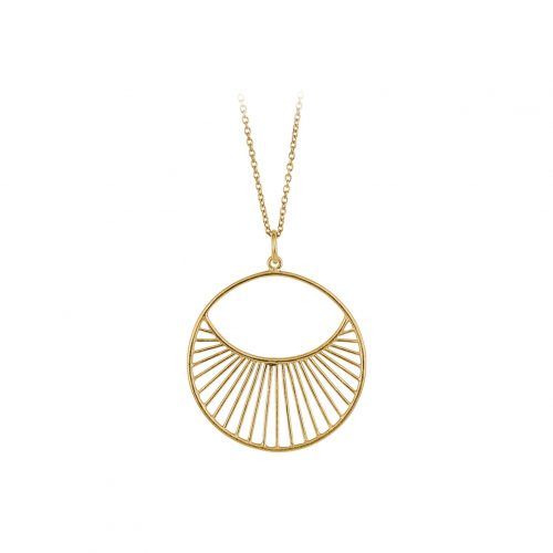 Pernille Corydon Daylight Necklace Short gold
